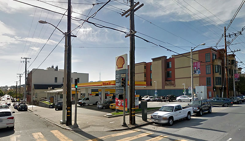 Friends Fighting To Preserve A Pacific Heights Service Station