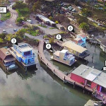 Looking To Live On A Barge, Own A Harbor On The Bay?