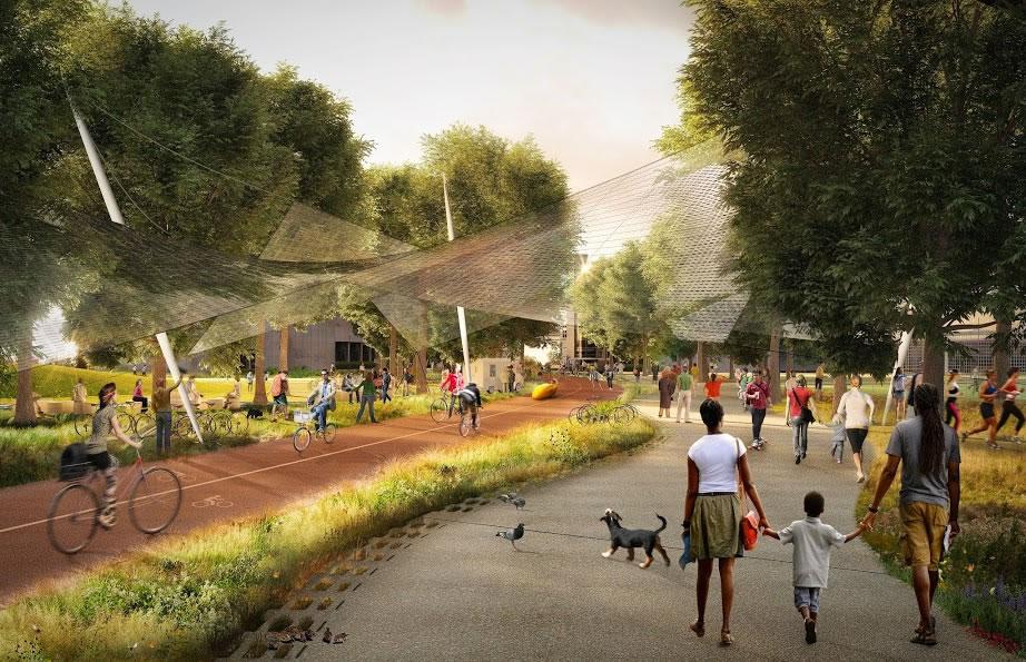 Google's North Bayshore Campus Green Loop
