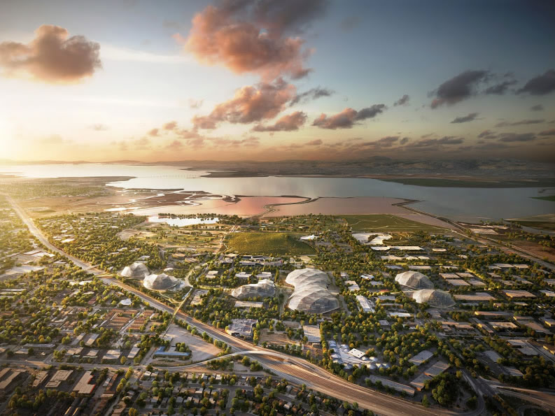 Google's BIG Plans For A High-Tech Canopied Campus
