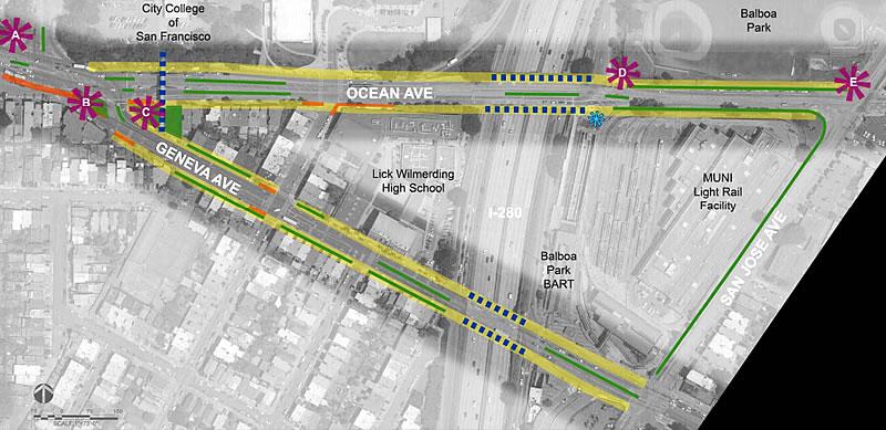 Ocean Avenue Corridor Design Phase 2