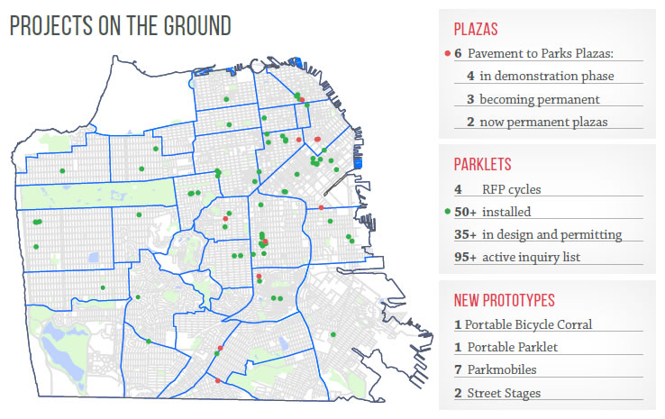 Pavement to Parks Map: Q1 2015