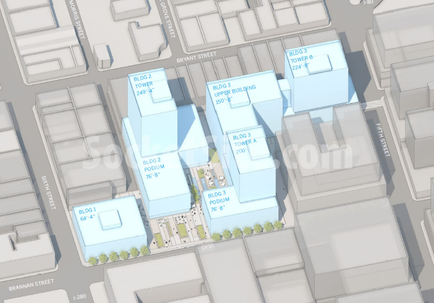 San Francisco Flower Mart Site Plan