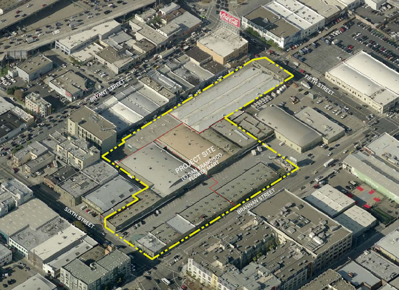 San Francisco Flower Mart Site