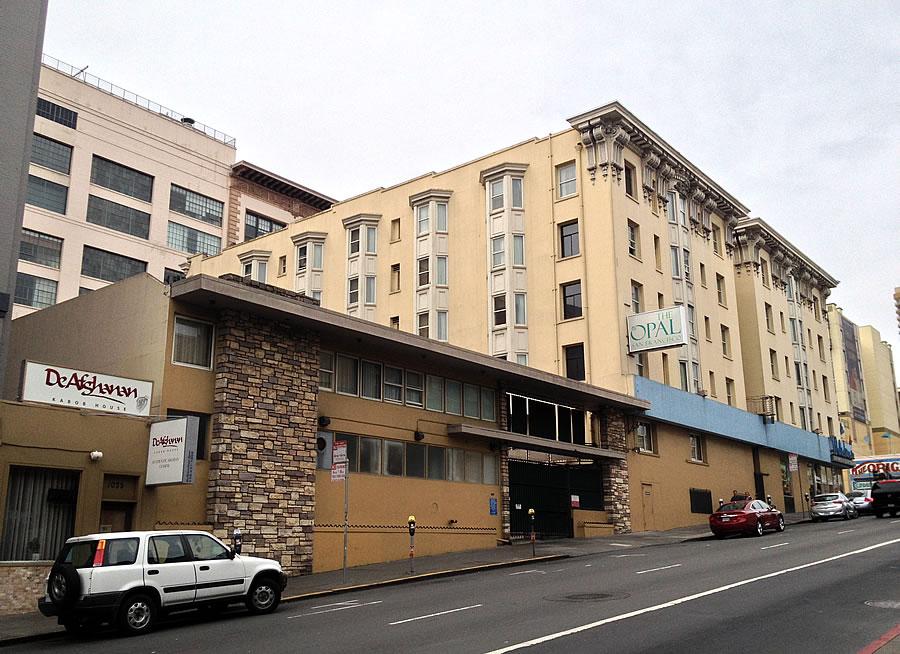 1055 Geary, Motel Opal Site