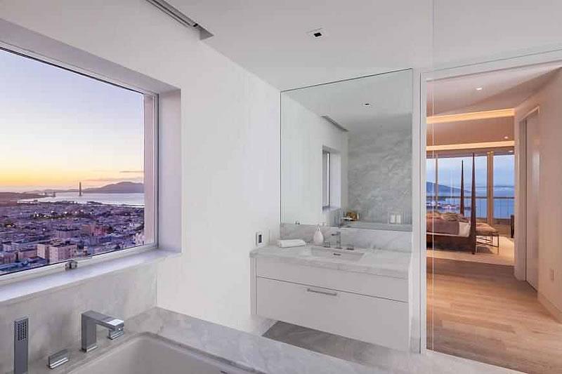 1070 Green Street #1501 Bathroom View