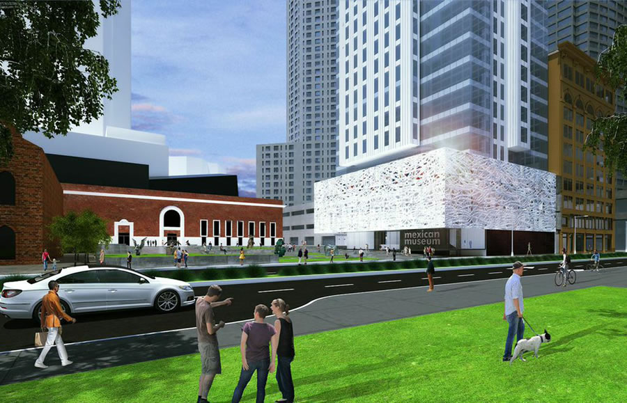 Mexican Museum Rendering