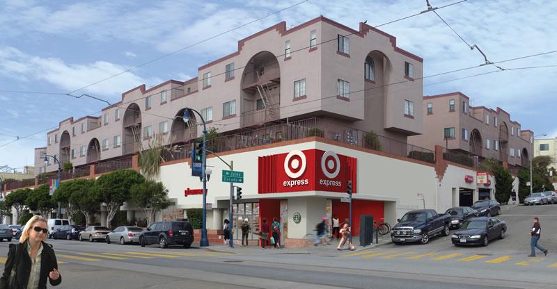 Target Ocean Avenue Rendering