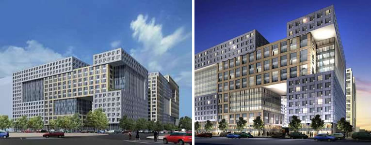 Trinity Place Market Street Facade as Approved