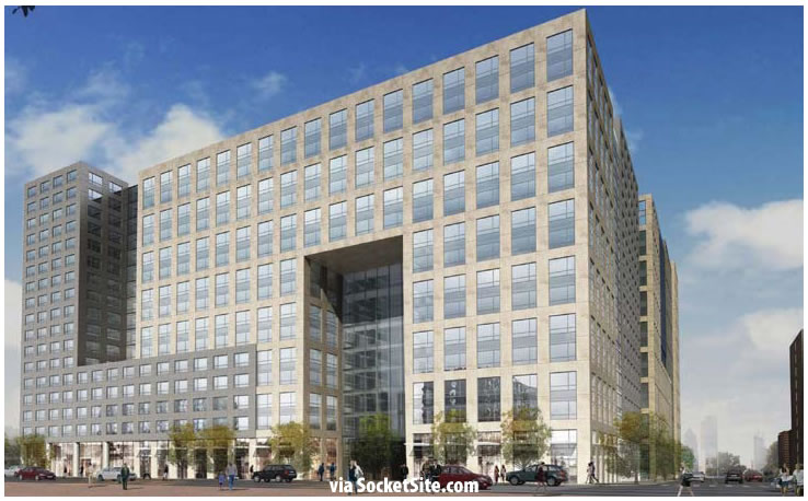 Trinity Place Market Street Facade (Phase 4) Redesigned