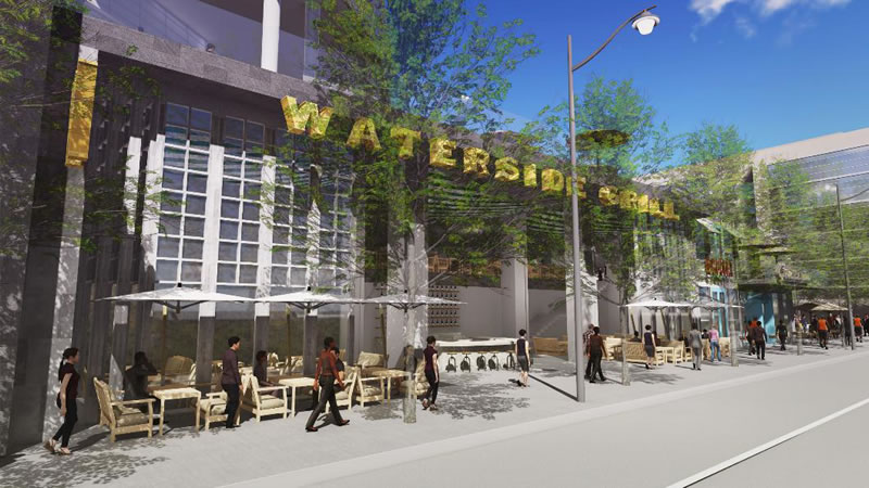 Warriors Mission Bay Arena Eastside Waterfront Grill