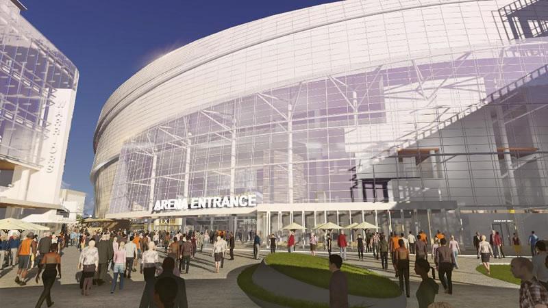 Warriors Mission Bay Arena: Main Plaza