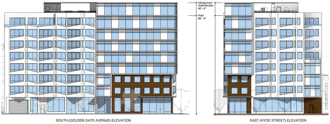 101 Hyde Street Elevations