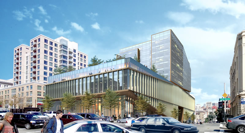 Van Ness Proposal Adds A Grocery And 60 Percent More Condos