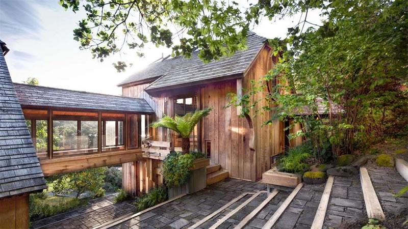430 Horseshoe Hill Bolinas - Bridge House