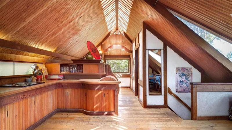 430 Horseshoe Hill Bolinas - Gate House Kitchen