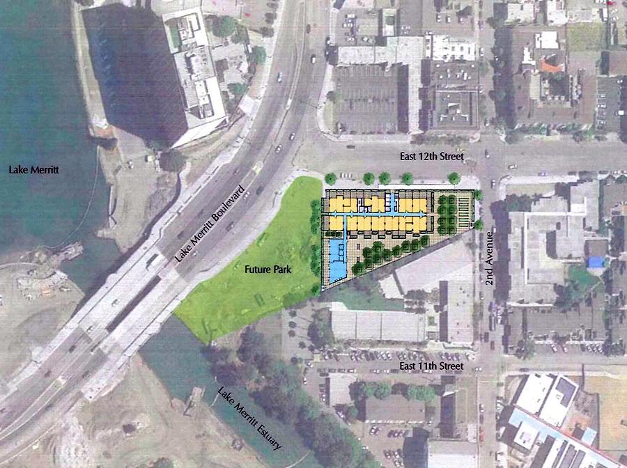 Lake Merritt Boulevard Apartments Site