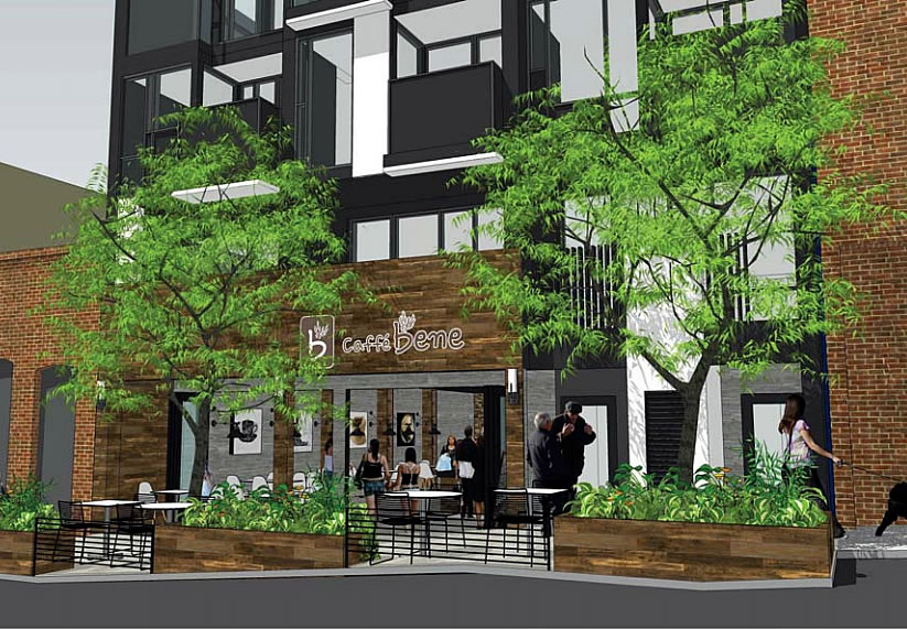 1238 Sutter Rendering - Cafe