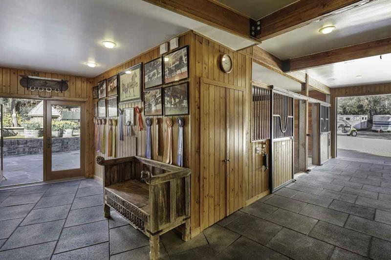 155 Kings Mountain Road Barn Interior