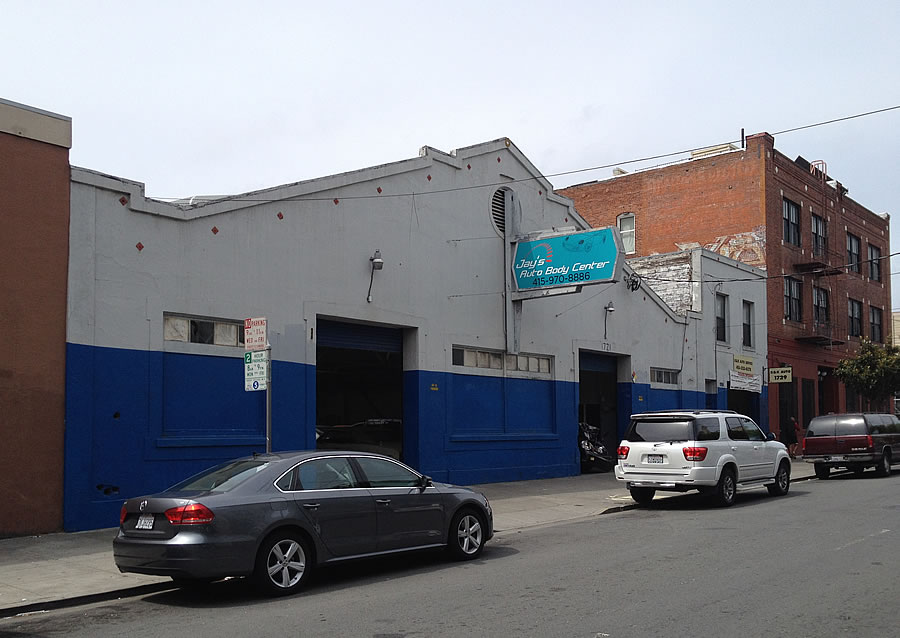 Historic Garage in Contract, New Plans for Condos to Rise