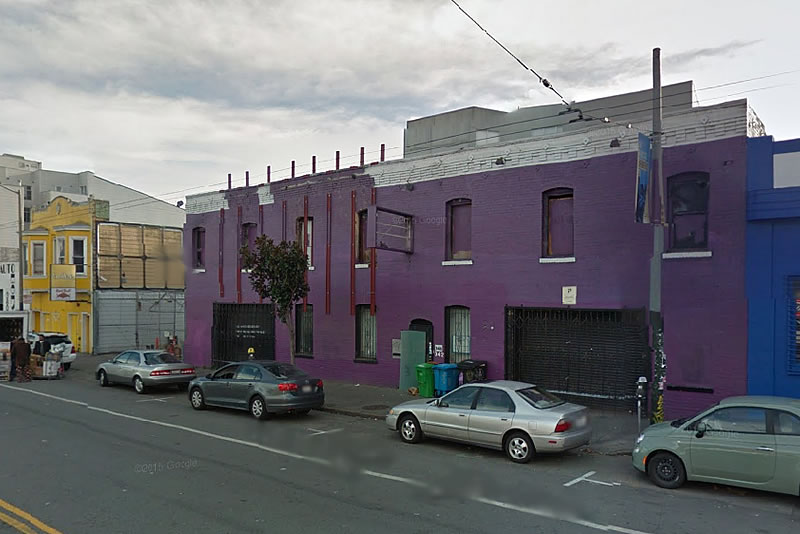 Plans For The Purple Building And Clubbers Crepes A-Go-Go