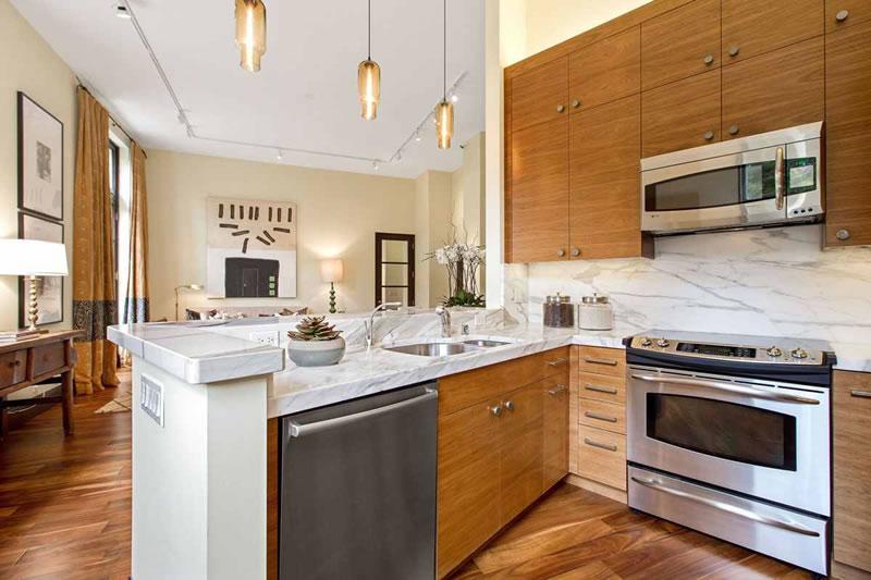 355 Buena Vista Avenue East #701 Kitchen