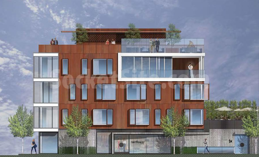400 Bay Rendering East Facade