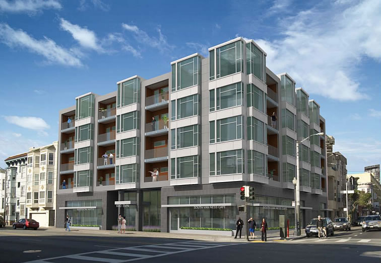 600 South Van Ness Rendering