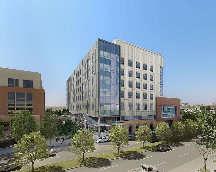 St. Luke's Hospital Design Refined And Newly Rendered