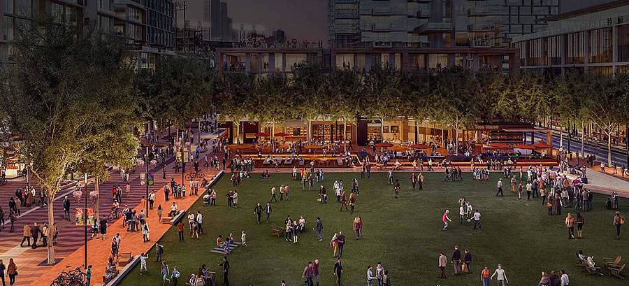Mission Rock Rendering - Mission Rock Square
