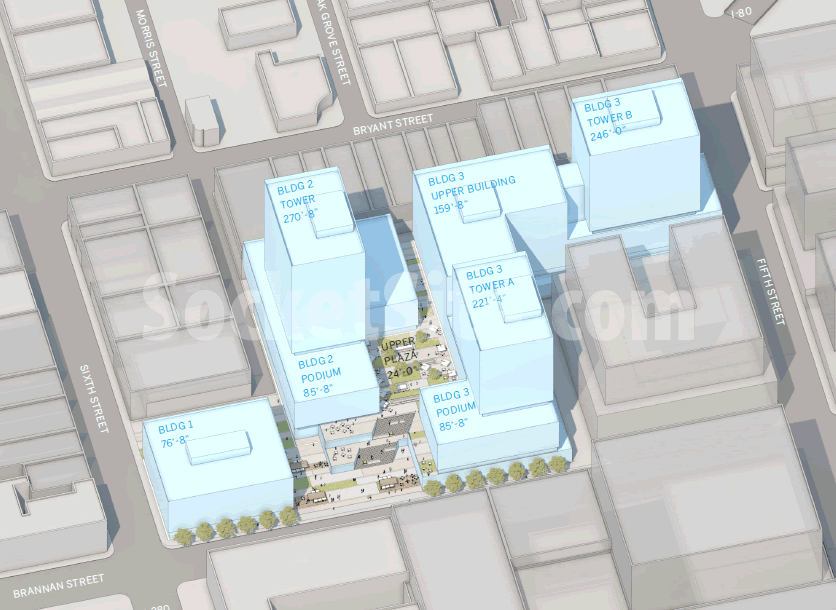 San Francisco Flower Mart Alternative Site Plan