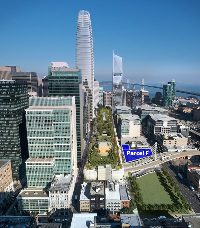Auction Set For 750-Foot Transbay Tower Site