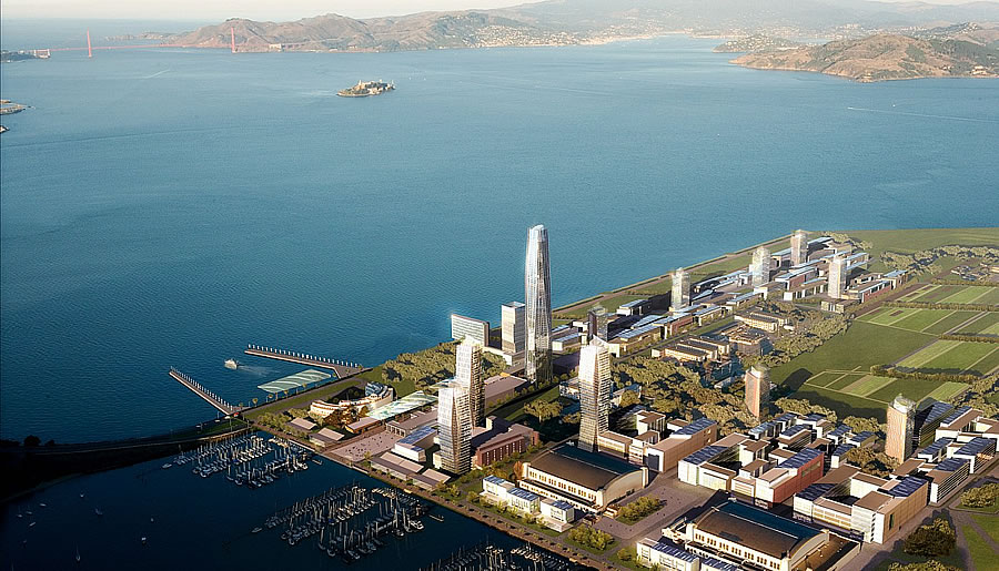 Treasure Island Redevelopment Rendering