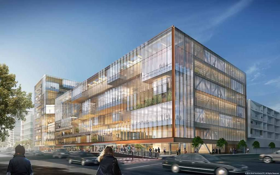 Uber Mission Bay Campus Rendering - SHoP