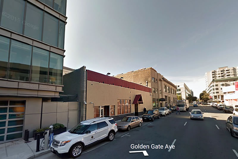 555 Golden Gate Avenue Site