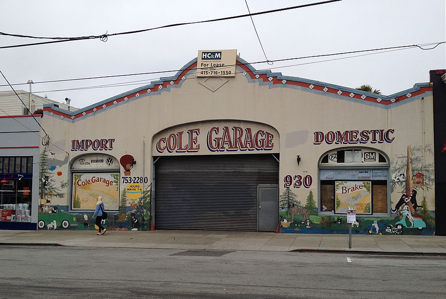930 Cole Street: Cole Garage