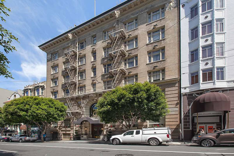 Historic 'Steinhart Hotel' Hits The Market Seeking $27M