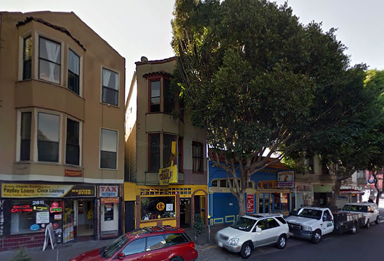 Roosevelt Tamale Parlor Building On The Market In The Mission