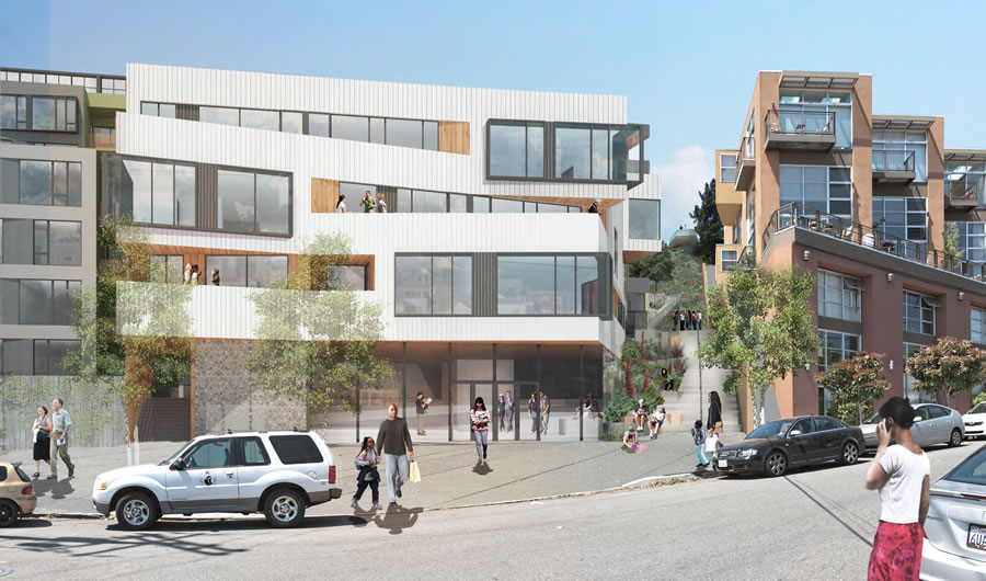 Potrero Hill's Future East Slope And Serpentine Steps