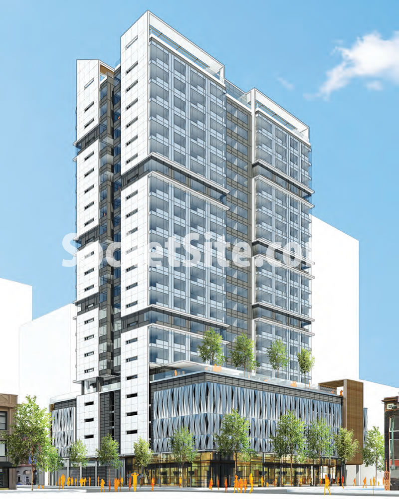 1700 Webster, Oakland Rendering
