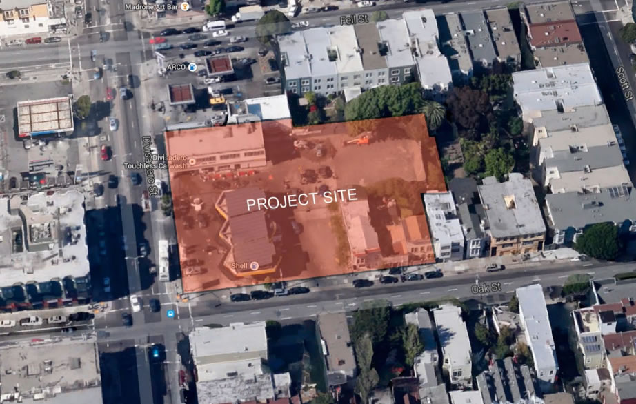 400 Divisadero Project Site