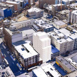 Designs For 11 Stories Of 400-Square-Foot Units At Turk And Taylor