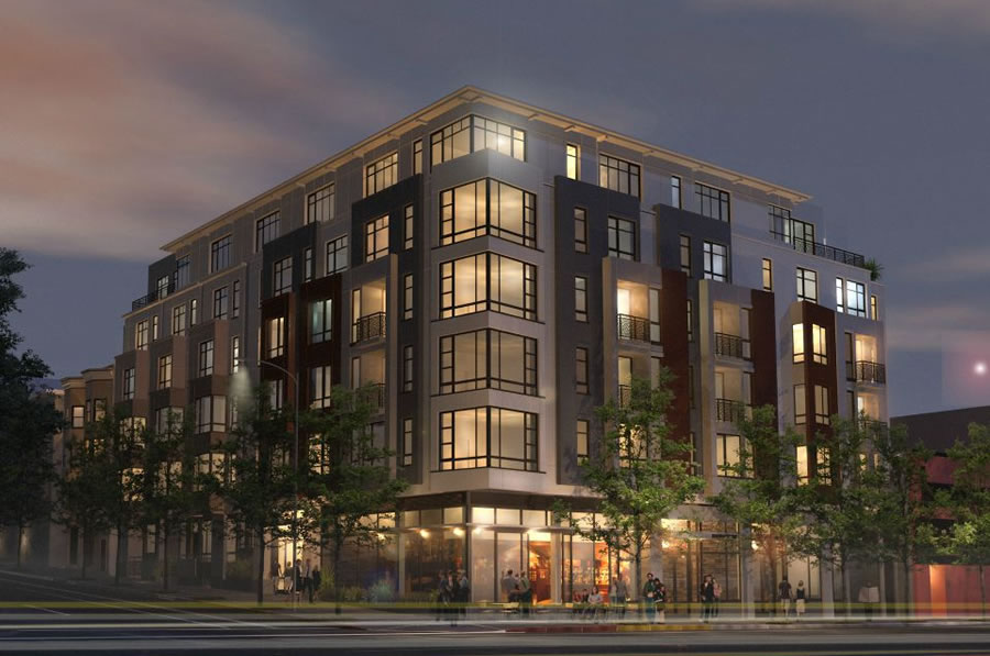 650 Divisadero Rendering 2015 Night