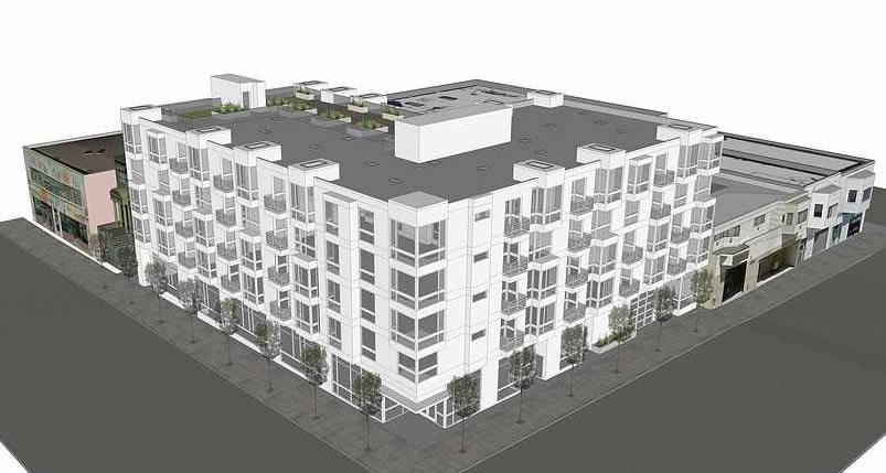 799 South Van Ness Rendering