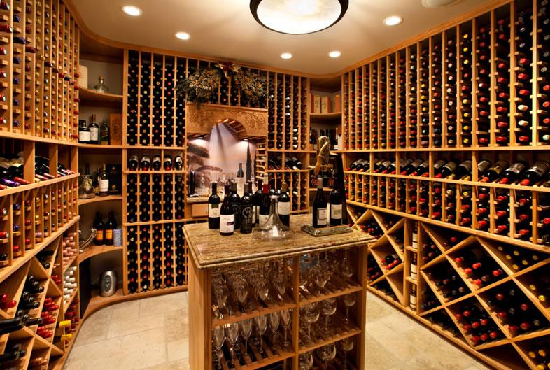 890 Robb Road Wine Cellar