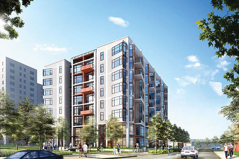 Parkmerced Phase 1: Block 1 Rendering