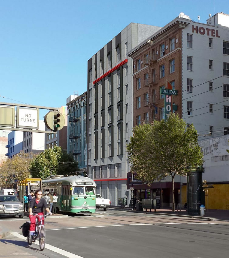 1075 Market Street Rendering