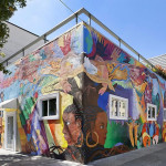 Mission District Mural Building On The Market, Peek Inside