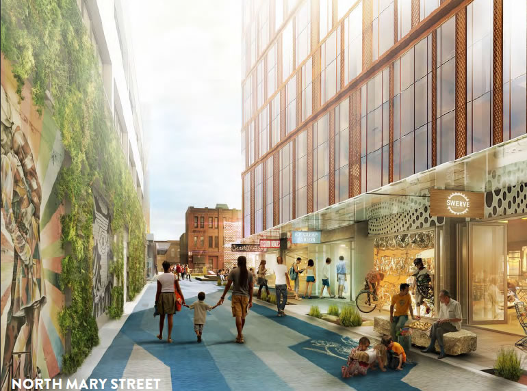 5M Project Rendering 2015 Mary Street