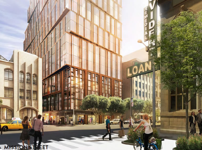 5M Project Rendering 2015 Mission Street